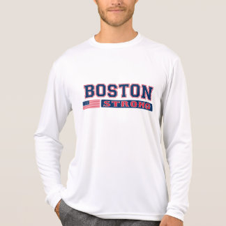 STARKER amerikanische Flaggen-T - Shirt BOSTONS