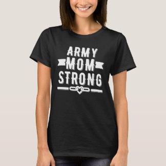 Starker Frauen der Armeemammas grafisch T-Shirt