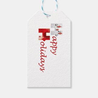 Stärkere zusammen frohe Feiertage Geschenkanhänger