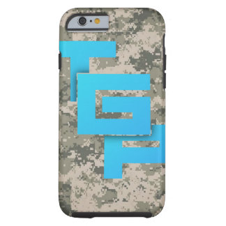 Starkes Camoflauge Iphone 6/6s Fall-Logo Tough iPhone 6 Hülle