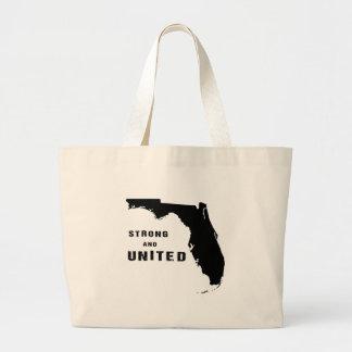 Starkes und vereinigtes Florida nach Irma Jumbo Stoffbeutel