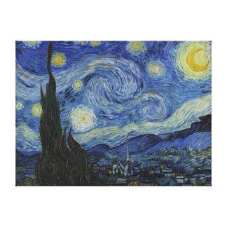 Starry Nachteingewickelte Leinwand Van Gogh Gespannte Galerie Drucke