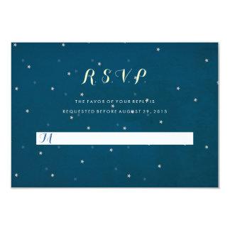 Starry Nachthimmel-Hochzeit UAWG Wartekarte 8,9 X 12,7 Cm Einladungskarte