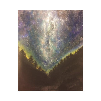 Starry NachtLeinwand-Druck Galerie Faltleinwand