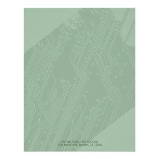 Stationäres Papier des 21,6 X 27,9 Cm Flyer