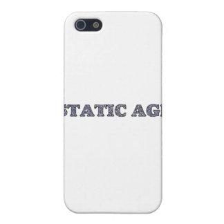 Statisches Alters-weiße Geräusche Etui Fürs iPhone 5