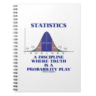 Statistiken eine Disziplin, wo Wahrheit Notizblock