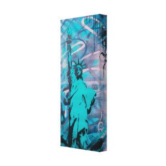 statue d'art de graffiti d'impression de toile de  impressions sur toile