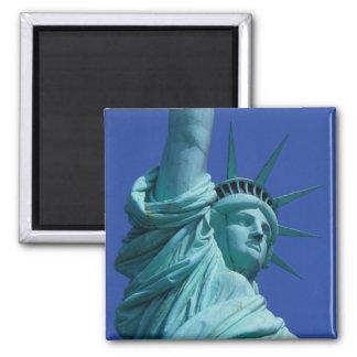 Statue de la liberté, New York, Etats-Unis 8 Magnet Carré
