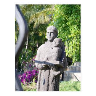 Statue in San Jose Del Cabo Postkarte