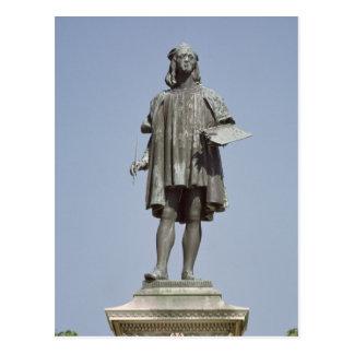 Statue von RAPHAEL Sanzio von Urbino, 1897 Postkarte