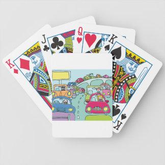 Stau-Leute Bicycle Spielkarten