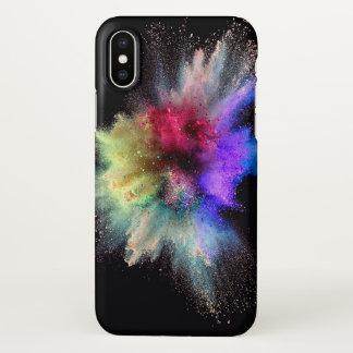 Staubexplosions-Telefonkasten iPhone X Hülle