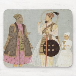 Staubige blaue Mausunterlage Mughal Maharadscha- Mauspads