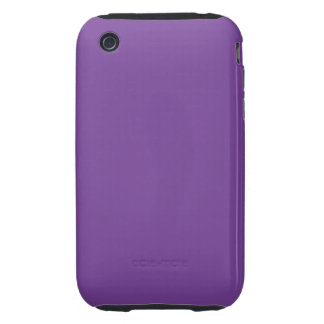Staubige lila Farbe iPhone 3 Tough Cases