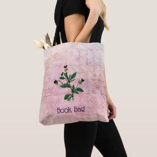 Staubiger rosa Vintager Viola botanisch Tasche