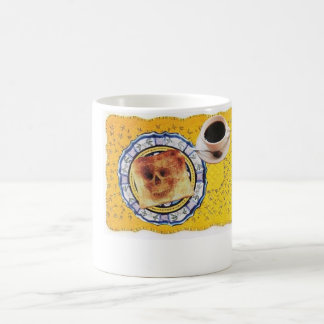 Staubtrockener Toast Kaffeetasse