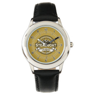 Steamboat-Uhr Tan.png Armbanduhr