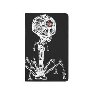 Steampunk Bakterium Taschennotizbuch