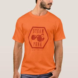 Steampunk Briefmarkenorange T-Shirt