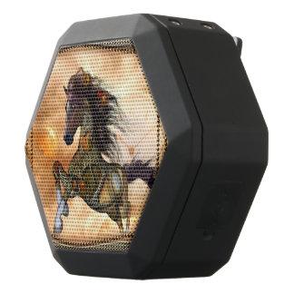 Steampunk, fantastisches steampunk Pferd Schwarze Bluetooth Lautsprecher