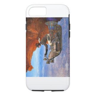 Steampunk Flugmaschine iPhone 7 Hülle