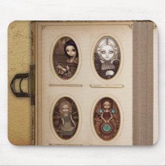 Steampunk Foto-Album Mousepad