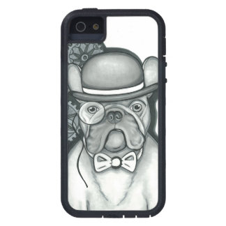 Steampunk Frenchie iPhone Se/iPhone 5/5S Fall iPhone 5 Hülle