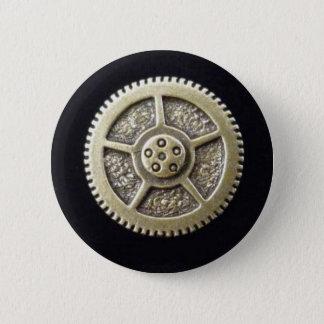 Steampunk Gang-Knopfebene Runder Button 5,1 Cm