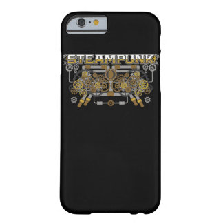 Steampunk Gang-und Rohr-Maschine Barely There iPhone 6 Hülle