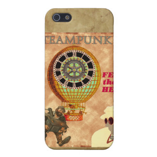 Steampunk ~ Gefühl die Hitze iPhone 5 Etuis