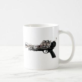 Steampunk Gewehr Kaffeetasse