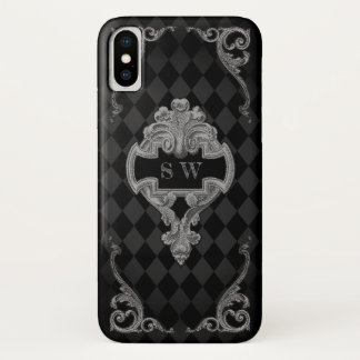 Steampunk Goth iPhone X Hülle