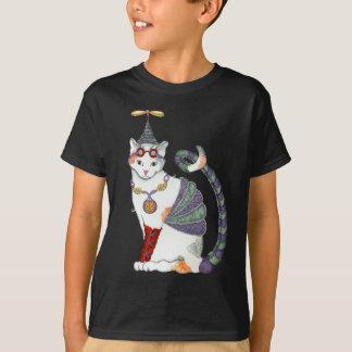 Steampunk Gretel Katzen-Dunkelheits-T-Stück T-Shirt