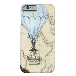 Steampunk Heißluft-Ballon iPhone Fall Barely There iPhone 6 Hülle