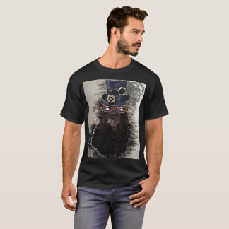 Steampunk Hund T-Shirt