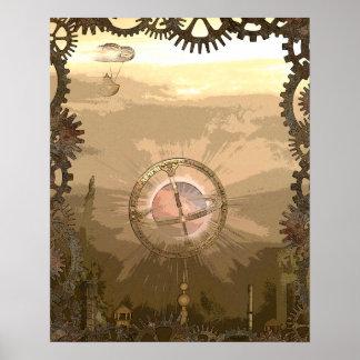 Steampunk inspirierte Gänge u. Poster