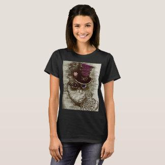 Steampunk Katze T-Shirt