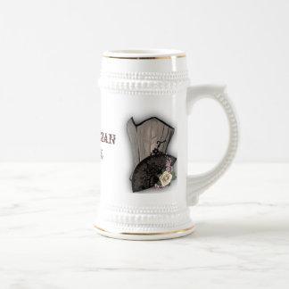 Steampunk Korsett und Fan Goth Hochzeit Teetassen