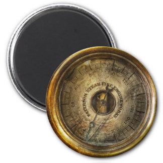 Steampunk - l'indicateur de pression aimants pour réfrigérateur