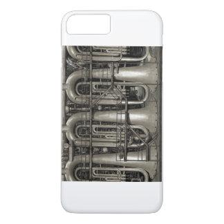 Steampunk Musik-Fabrik iPhone 7 Plus Hülle