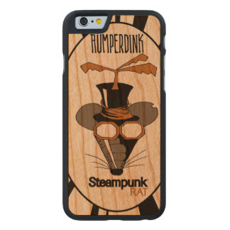 Steampunk Ratte Carved® iPhone 6 Hülle Kirsche