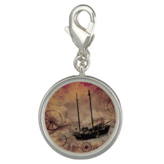 Steampunk Schiffs-Fantasie-Reisend-Armband-Charme Charms