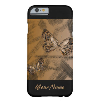 SteamPunk Schmetterling Iphone Fall Barely There iPhone 6 Hülle