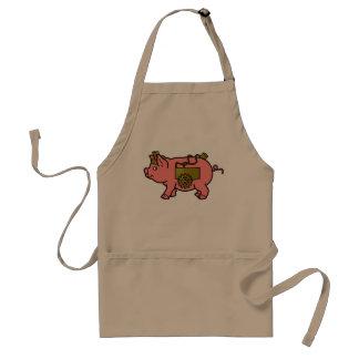 Steampunk Schwein-Schürze Schürze