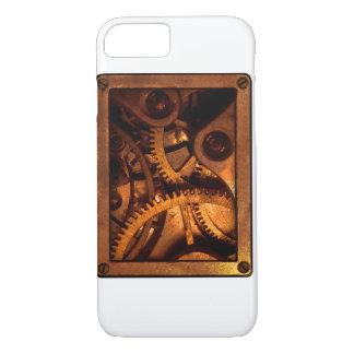 Steampunk übersetzt Uhrwerk-Telefon-Kasten iPhone 7 Hülle