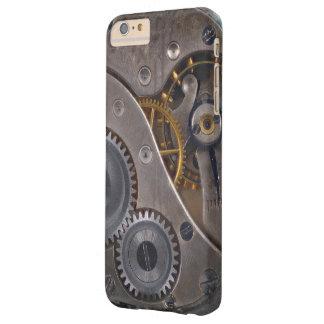 Steampunk Uhrwerk-rostige Gänge Barely There iPhone 6 Plus Hülle