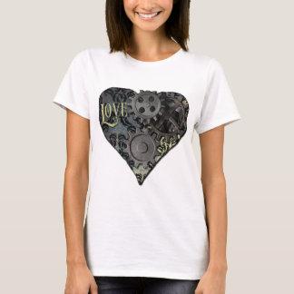 Steampunk Valentine-Liebe T-Shirt