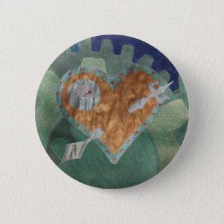 Steampunk Valentinsgruß Runder Button 5,7 Cm