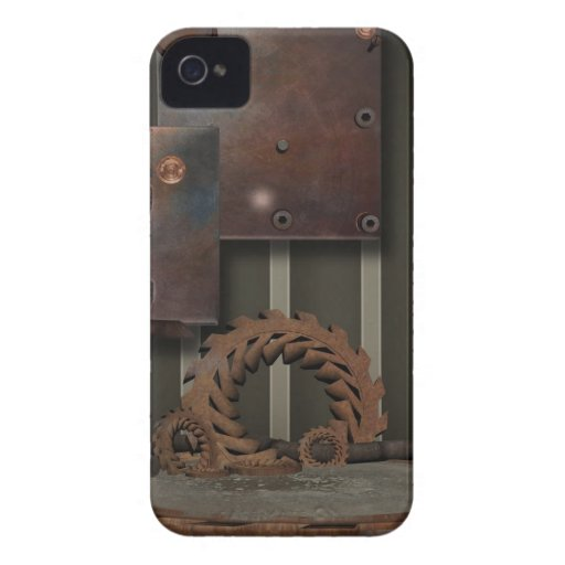 SteamPunk vintage Blackberry 9700-9800 audacieux Coque iPhone 4 Case-Mate